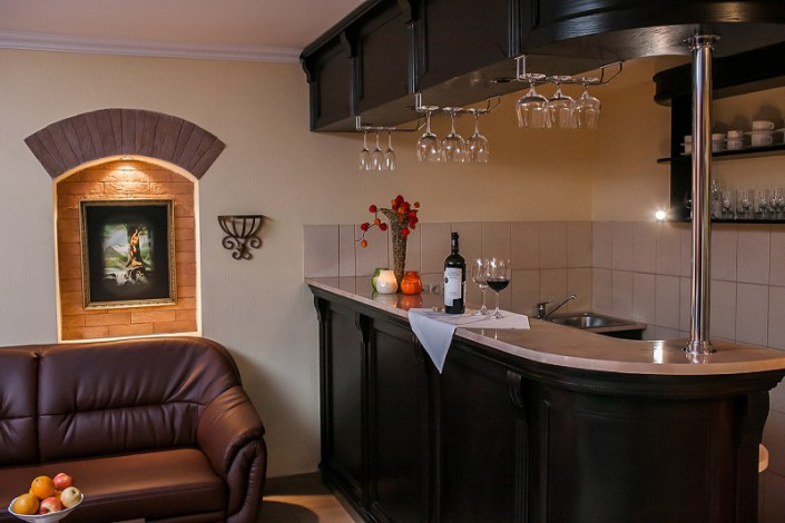 Комната отдыха в сауне санатория Золотой колос