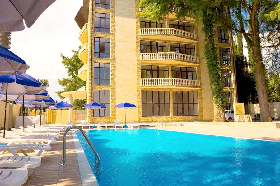 Отель Золотой якорь, Гудаута, Абхазия