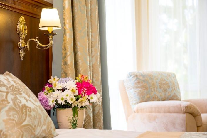 Делюкс двухкомнатный с балконом отеля Золотой якорь