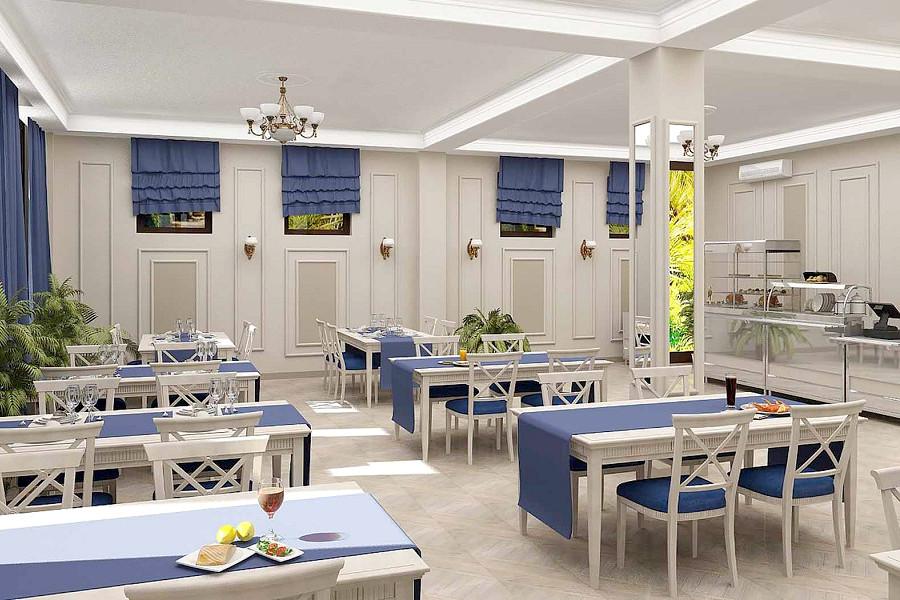 Ресторан отеля Золотой якорь